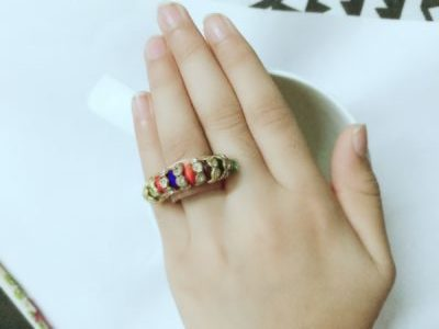 DIY idea to turn your old ring into new ring