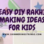 easy DIY rakhi ideas for kids | how to make rakhi at home