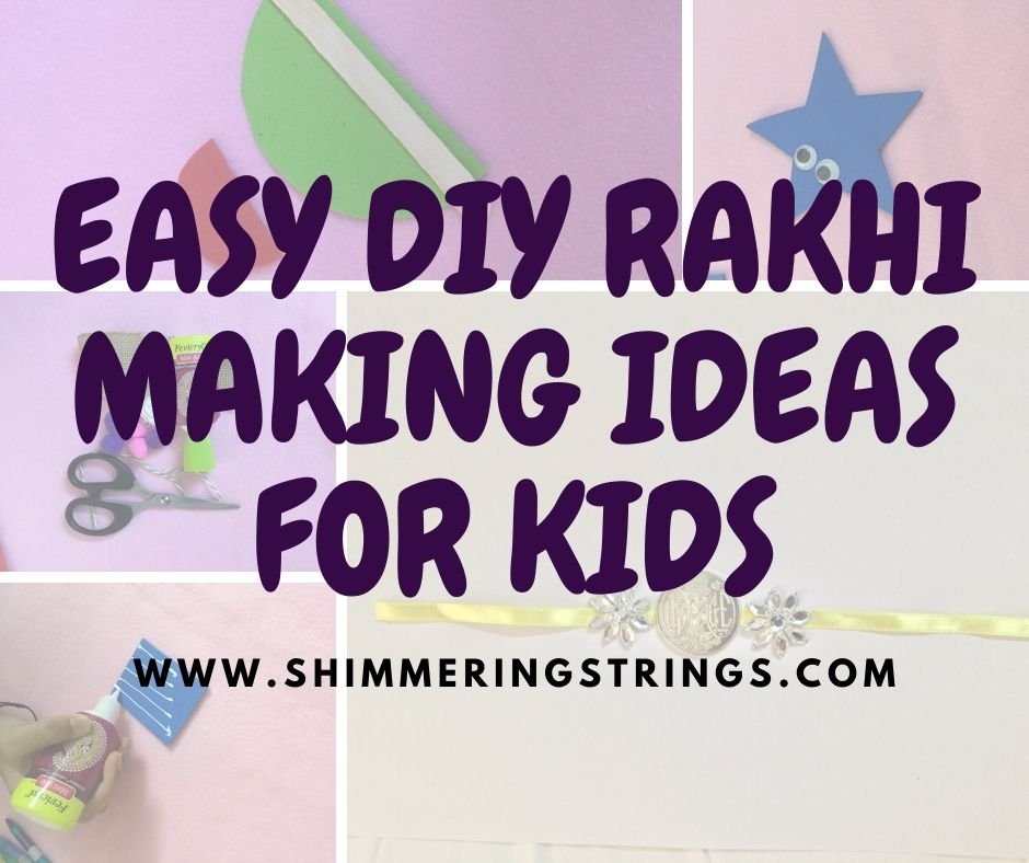 HOW TO MAKE RAKHI AT HOME
