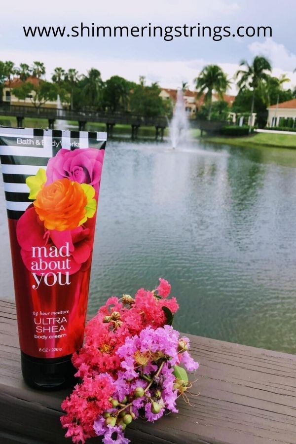 fall in love with bath & body works body creams