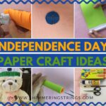 independence day paper craft ideas | tri color paper craft ideas