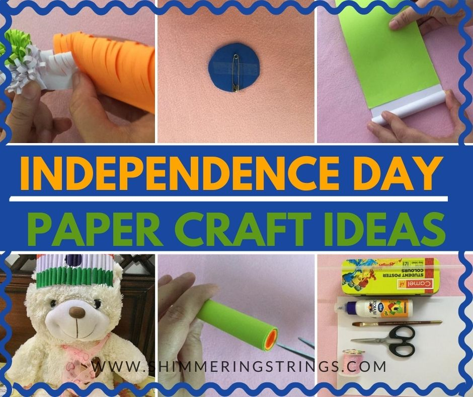 Independence day paper crafts