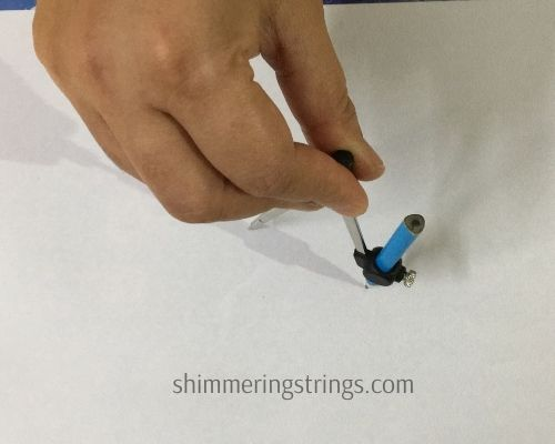 easy geometric pattern using compass for kids