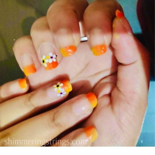 easy nail art with house hold tools