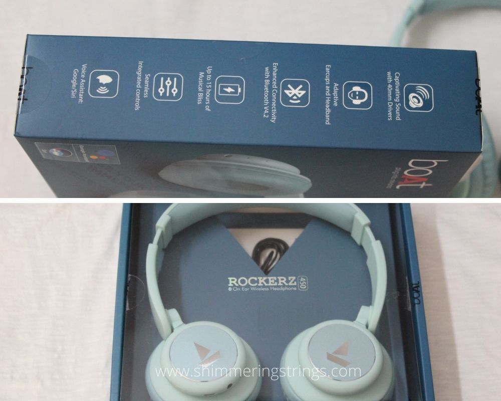 low-cost educational gadget boat rockerz 450 Bluetooth on-ear headphone with mic