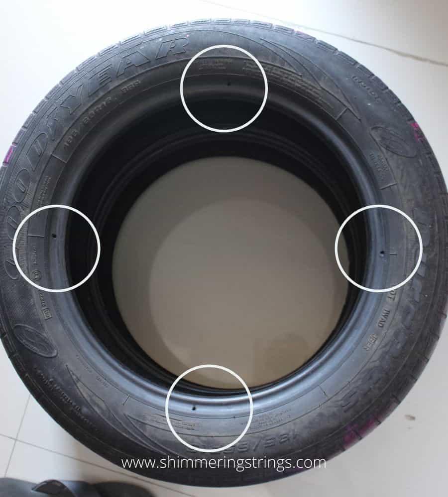 DIY sofa with tyres
